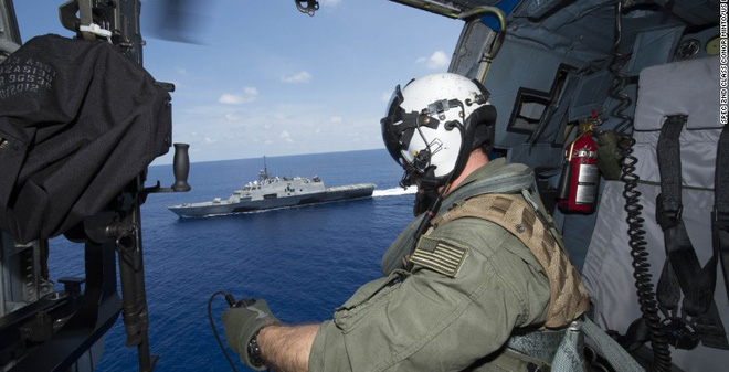 Tàu Mỹ tuần tra gần Hoàng Sa: Báo TQ mượn lời Duterte để mỉa mai