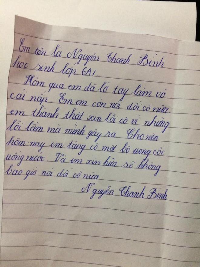 Dọn phòng, cô giáo nhặt được mảnh giấy với lời thú tội không ngờ từ học sinh lớp 6 - Ảnh 1.