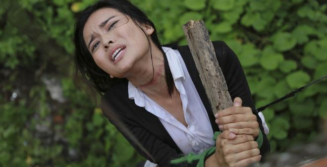 Cao Thái Hà bị tai nạn trên phim trường