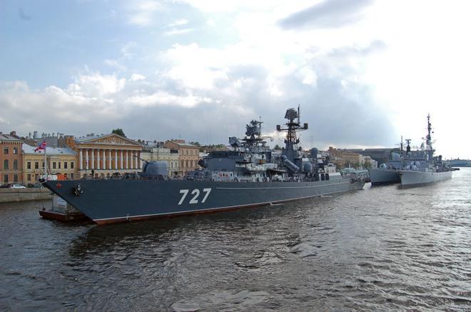Tìm hiểu tàu chiến Nga vừa chạm trán khu trục hạm Mỹ trên biển - Ảnh 2.