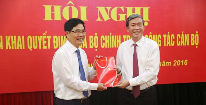 Ông Cao Đức Phát làm Phó Trưởng Ban TT Ban Kinh tế Trung ương