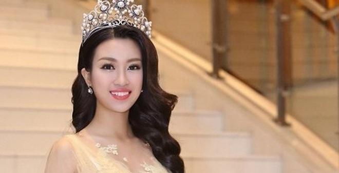 Mỹ Linh lo hơn là mừng khi trở thành Hoa hậu