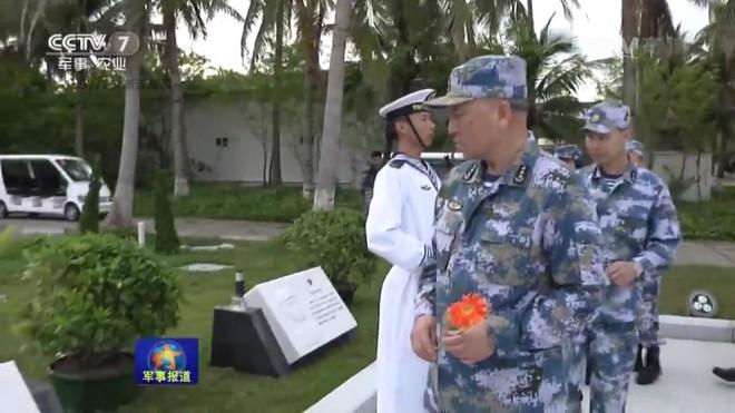 TQ bất ngờ loan tin Tư lệnh Hải quân ra Hoàng Sa, tuyên bố thông điệp hiếu chiến - Ảnh 1.
