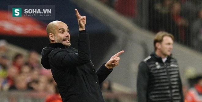 """Chưa ngồi ghế nóng, Pep Guardiola đã """"chọc trời"""" cùng Man City"""