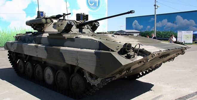 Nga giới thiệu 2 giải pháp nâng cấp xe chiến đấu bộ binh BMP-1