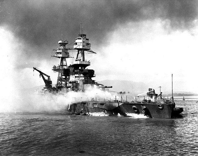 Dù tan nát sau trận Trân Châu Cảng nhưng hải quân Mỹ vẫn làm được 1 điều kỳ tích - Ảnh 3.