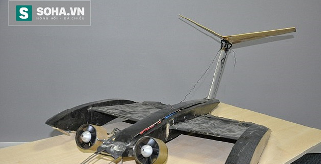 Máy bay điều khiển từ xa bay như… Người Dơi