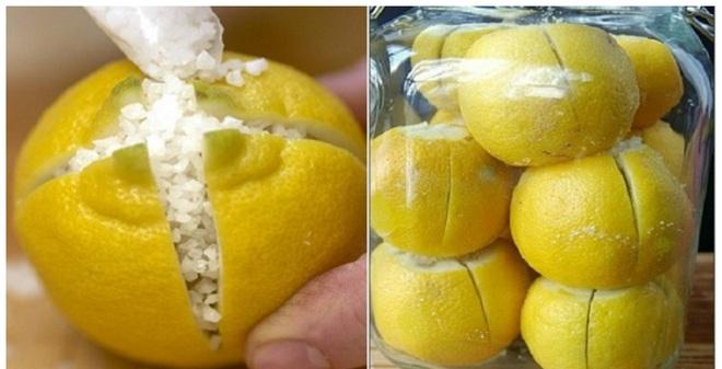 Tác dụng tuyệt vời của chanh muối