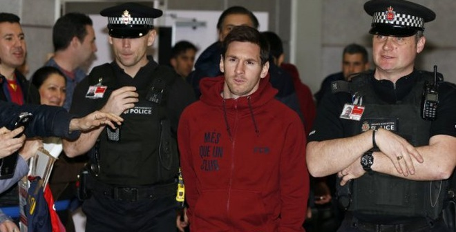 """Không chỉ thuế, vì ma túy, Messi """"trên đường"""" vào tù"""