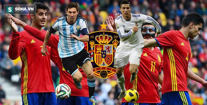 Xin lỗi Tây Ban Nha, Messi, Ronaldo không ở đây!