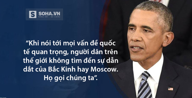 Thông điệp Liên bang Obama: Khẳng định vị thế siêu cường số 1