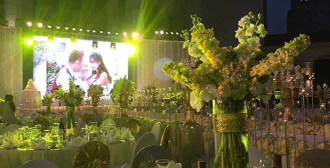 Đám cưới xa hoa với 1,5 tỷ đồng trang trí của chàng doanh nhân và người yêu hotgirl