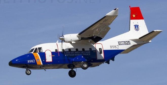 Cảnh sát biển Việt Nam có thể trang bị thêm máy bay CASA C-212