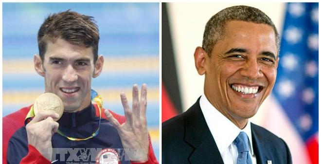 """Tổng thống Obama bất ngờ """"ra tay"""" sau chiến tích của Michael Phelps"""