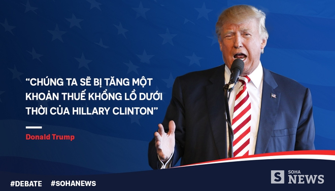 Tranh luận lần cuối, Trump - Clinton dùng mánh võ mồm nào? - Ảnh 8.