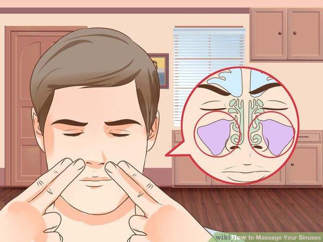 Bác sĩ Mỹ hướng dẫn cách giảm đau do viêm xoang chỉ trong 1 phút - Ảnh 3.