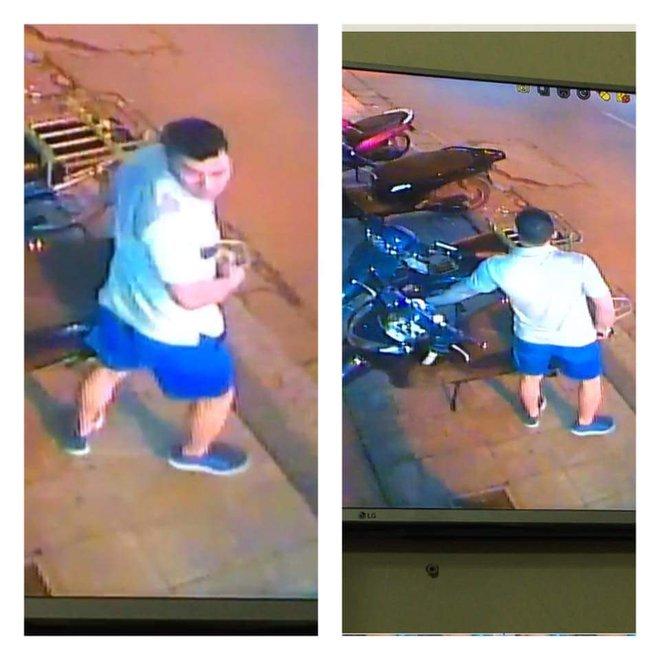 Chỉ 1 vài động tác, nam thanh niên đã trộm được xe giữa phố - Ảnh 3.