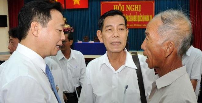 Gặp Bộ trưởng, cụ ông đã giải quyết được việc 2 tháng không xong
