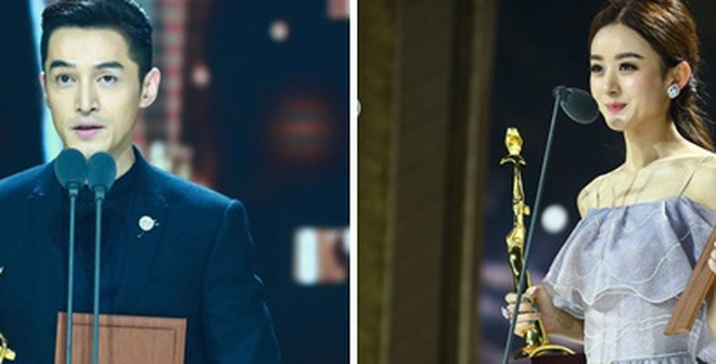 Hồ Ca và Triệu Lệ Dĩnh giành chiến thắng tại Lễ trao giải Kim Ưng 2016