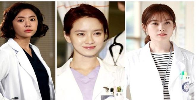 """Những thiên thần áo trắng """"vạn người mê"""" trên màn ảnh Hàn"""