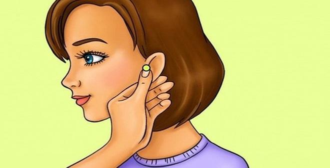 Kiên trì bấm huyệt dái tai, bạn sẽ giảm cân như ý muốn