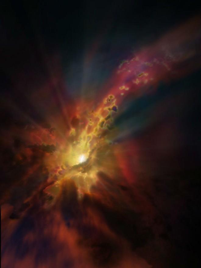 Phát hiện bất ngờ: Xuất hiện mưa ở hố đen vũ trụ - Ảnh 3.