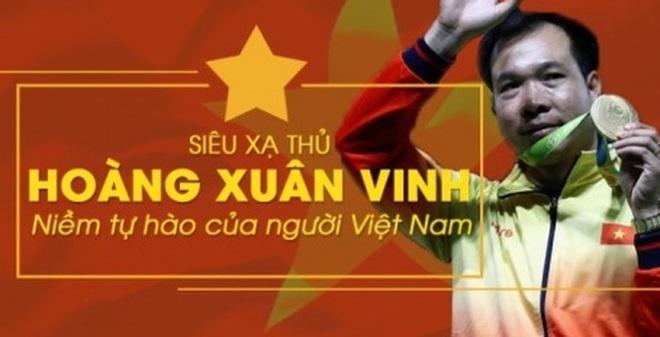 [Infographics] Hoàng Xuân Vinh, niềm tự hào Việt Nam tại Olympic Rio 2016