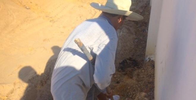 Phát hiện thêm 2 chỗ chôn chất thải Formosa trong công viên