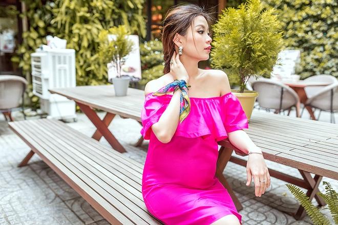 Á hậu Diễm Trang khoe vẻ gợi cảm trước ngày sinh nở - Ảnh 10.