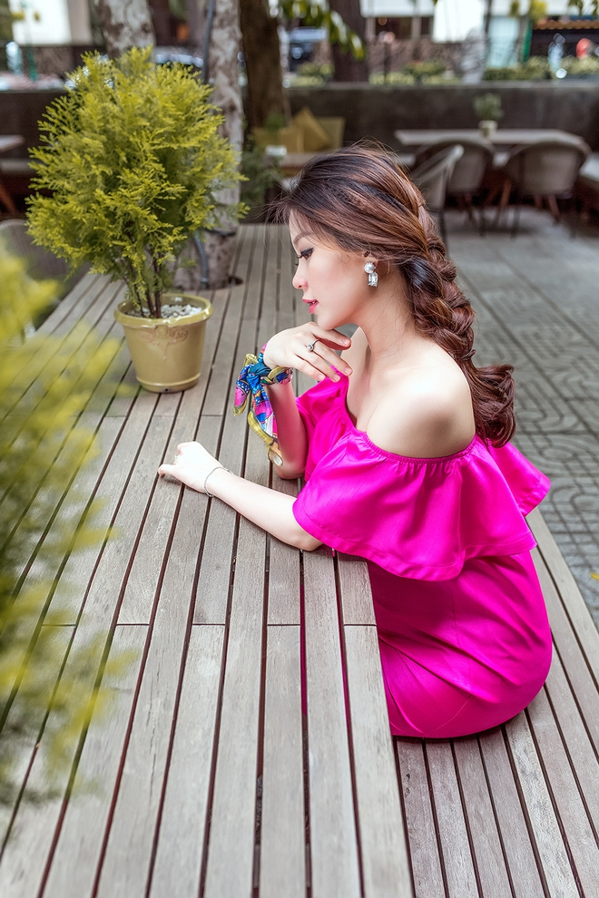 Á hậu Diễm Trang khoe vẻ gợi cảm trước ngày sinh nở - Ảnh 12.