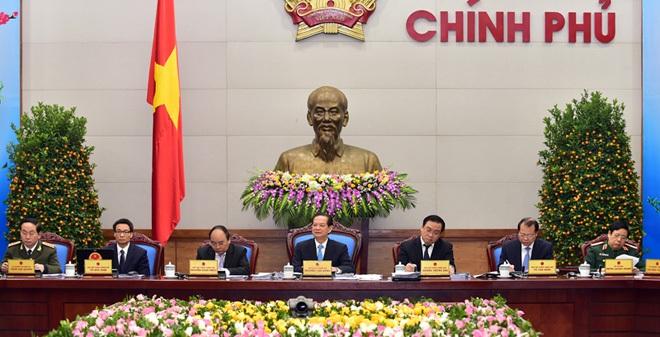 Thủ tướng Nguyễn Tấn Dũng chủ trì phiên họp cuối của Chính phủ