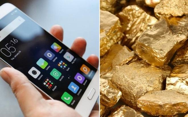 """Có một """"mỏ vàng"""" cực kỳ lớn bên trong những chiếc smartphone của chúng ta"""
