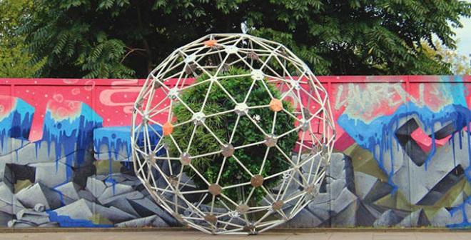 Đột phá: Sáng tạo vườn cây di động đi khắp thành phố