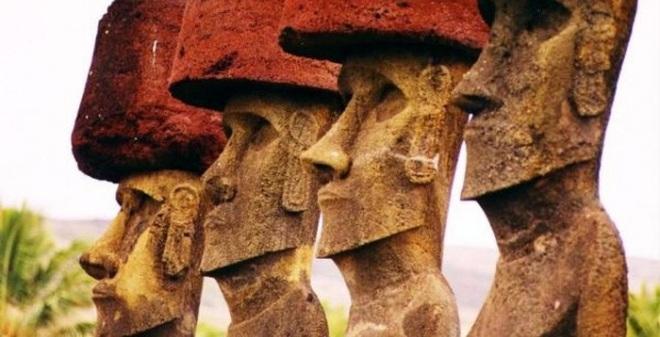 Bí ẩn cách thức di chuyển Moai đá khổng lồ ở đảo Phục Sinh