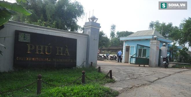CA huyện khẳng định không có chất thải nguy hại của Formosa chuyển về Phú Thọ