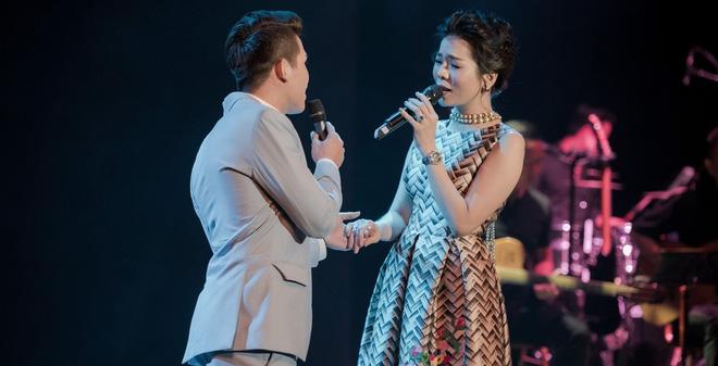 Lệ Quyên tuyên bố sẽ nâng đỡ Quốc Thiên hát nhạc vàng