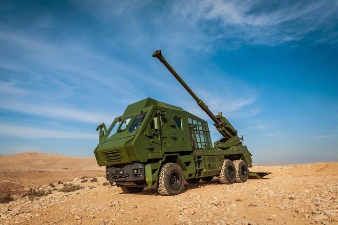 Nghèo mà sở hữu pháo tự hành Israel ATMOS-2000 hiện đại: Điều không thể đã thành có thể! - Ảnh 1.