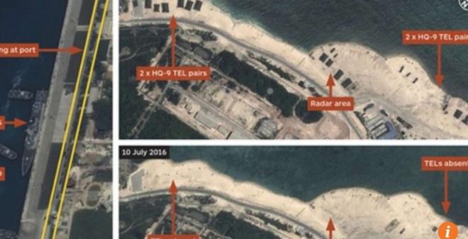 Đằng sau việc Trung Quốc dỡ bỏ tên lửa HQ-9 ở Hoàng Sa