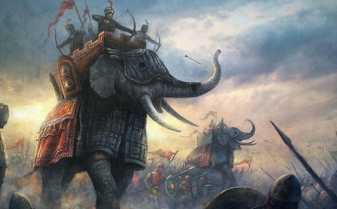 Tượng binh Đại Việt đối đầu với chiến thuật 'biển người' của nhà Tống