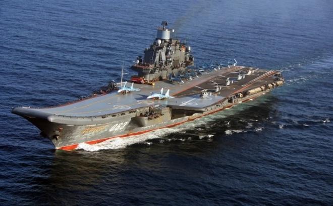 Trở về từ cõi chết: Tàu sân bay Đô đốc Kuznetsov Nga gieo rắc nỗi sợ hãi