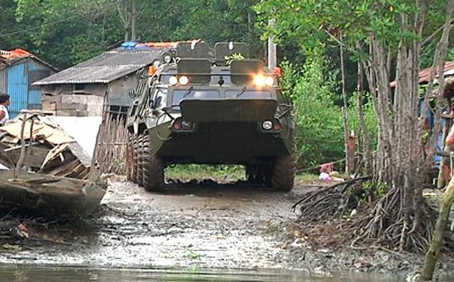 Mơ thành thật: Việt Nam đã nhận xe thiết giáp BTR-80 phiên bản đặc biệt!