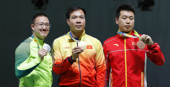 Đoạt HCV Olympic, xạ thủ Hoàng Xuân Vinh làm nên lịch sử