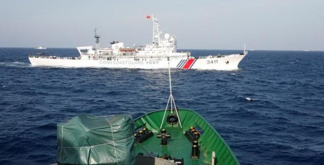 Hải cảnh Trung Quốc can dự vào hầu hết các vụ đụng độ ở Biển Đông
