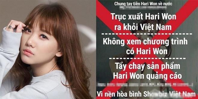 "Hari Won, Andrea gây ""hỗn loạn"" showbiz Việt - Ảnh 5."