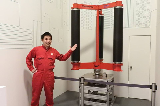 Bật mí công nghệ của Nhật bản nhằm thu năng lượng từ bão - Ảnh 3.