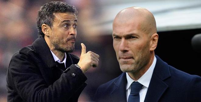 """""""Đồng cảm"""" với Real Madrid, Enrique cười vào mũi Zidane"""