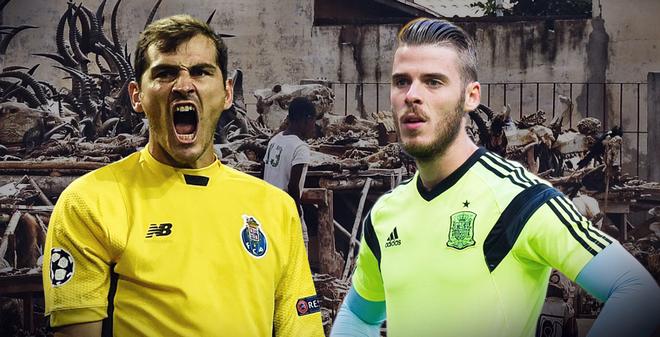 Bí ẩn món bùa Casillas có nhưng De Gea lại không