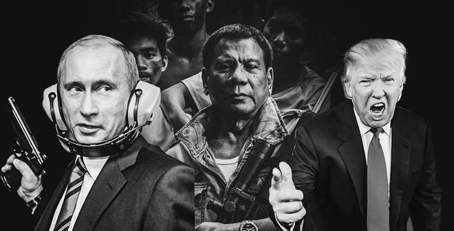 Putin, Duterte và Trump có điểm gì chung khiến nhiều người say mê?