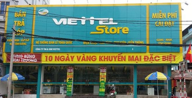 Dưới bóng người khổng lồ Viettel, nhưng Viettel Store đang ngày càng teo tóp