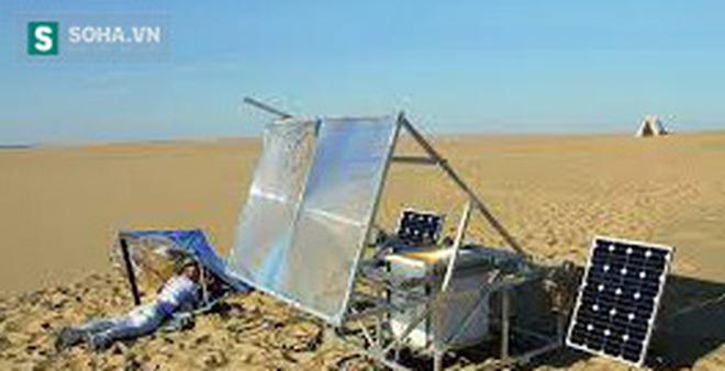 Đã tìm được cách biến cát sa mạc thành điện!